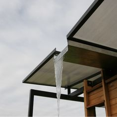 """Exceptional """"rainwater harvesting architecture"""" info is readily available on our site. Have a look and you wont be sorry you did. Detail Architecture, Interior Architecture, Infrastructure Architecture, Roof Design, House Design, Water Catchment, Butterfly Roof, Water From Air, Water Collection"""