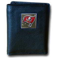 5fed64741e8 NFL Tampa Bay Buccaneers Genuine Leather Tri-fold Wallet by Siskiyou.   19.99. NFL