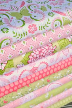 The pink quilt. And the next one and the next one, until I run out of Bella Butterfly.