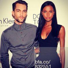 Tobias & Jasmine #bwwm #couple #wmbw #cute