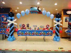 Thomas the Tank Engine Party Birthday Party Ideas | Photo 4 of 17
