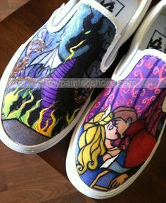 painted shoes Disney Hand Painted Cavas Shoes Low-top Painted Ca,Low-top Painted Canvas Shoes