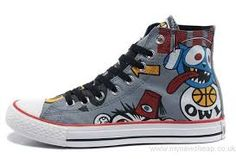 Find X CONVERSE X Gorillaz Graffiti Print High Tops Grey Canvas Shoes  Lastest online or in Footlocker. Shop Top Brands and the latest styles X  CONVERSE X ... ec000718db