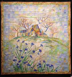 The aroma of meadows by Irina Korotkova from Russia. byannelize : European Patchwork Meeting Alsace 2014