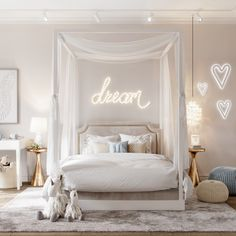 Trendy bedroom paint colors for teens grey 17 Ideas Interior Design Blogs, Home Design, Shabby Chic Bedrooms, Bedroom Vintage, Trendy Bedroom, Modern Bedroom, Luxury Kids Bedroom, Natural Bedroom, Small Room Bedroom