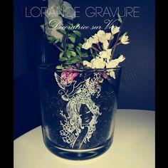 Gravure Crea Nature sur Vase