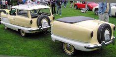 1956 Nash Metropolitan With Trailer Rockabilly Fever