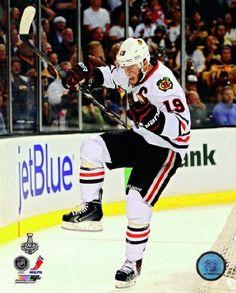 Jonathan Toews Chicago Blackhawks 2013 Stanley Cup Finals Game 4 Goal Celebration Photo 8x10 ,$6.99