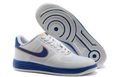 new arrival 50ac0 7b8cf Nike LUNAR FORCE 1 FUSE NRG White Blue Shoes Nike Shoes For Sale, Cheap Nike