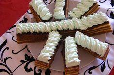 Zsuzsi szelet | Receptkirály.hu Birthday Cake, Food, Birthday Cakes, Hoods, Meals, Birthday Cookies