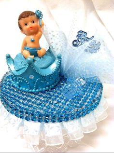 Baby Shower Royal Prince Baby Boy Cake Top Crown Centerpiece Decoration  #babyshowerprincebabyboyset #BabyShower