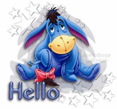 Eeyore (Winnie the Pooh) Animated Gifs Eeyore Quotes, Winnie The Pooh Quotes, Disney Winnie The Pooh, Good Morning Funny Pictures, Funny Happy Birthday Pictures, Morning Pics, Morning Images, Funny Birthday, Birthday Wishes