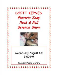 #ScottKepnes at Franklin Public Library