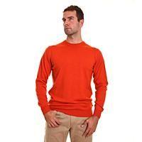 Barbour Sporting Crew Jumper Rust / Orange