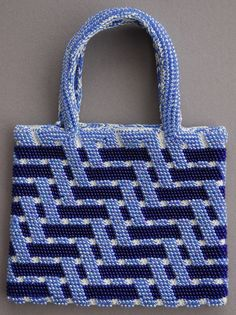 https://flic.kr/p/aS9CVX | Bead Tapestry Crochet Bag