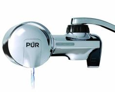 PUR Chrome Horizontal Faucet Mount with 1 MineralClear Filter - PUR chrome horizontal faucet mount with 1 mineral clear filter. PUR is certified to reduce over 70 contaminants, including of lead, of agricultural pesticide and mercury. PUR is certified . Pur Water Filter, Best Water Filter, Water Filter Pitcher, Water Filters, Home Depot, Best Faucet, Mount System, Water Filtration System, Water Pitchers