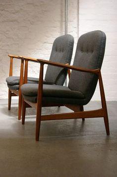 The Modern Warehouse - Furniture - Finn Juhl Bovirke Armchairs