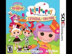 Peanut Big Top is throwing the biggest Silly Funhouse carnival in Lalaloopsy Land for all to enjoy, including a special treat at the end! It's up to you to find all of the Lalaloopsy friends at the carnival to reveal the BIG surprise! Nintendo Ds, Nintendo Games, 3d Mode, Ds Games, Mini Games, Thing 1, Carnival Themes, Special Characters, Paper Dolls