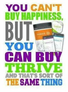 Have you experienced aches and pains or tiredness? Have you tried drinking coffee or soda and don't like the effects that caffeine have on you once it wears off? Then try Thrive by Le-Vel. With this product and DFT you will feel a Burst of energy, better cognitive abilities and increased focus. Julie330.Le-Vel.com