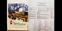 Mar Roxas releases photo of Wharton Alumni directory with his name #RagnarokConnection
