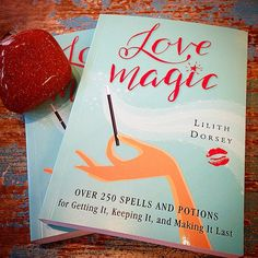"""Love Magic: Over 250 Spells and Potions for Getting it, Keeping it, and Making it Last"" with Lilith Dorsey  April 1st, 2017 4-5:30pm Free event  This is really ""the big little book of love magic."" #aumshantibookshop #Wicca #spells #tarot #crystal-shop #crystal #chakra #unionsq #NYC #nycevents"