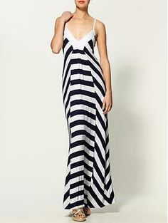 Ella Moss Exclusively for Piperlime Liberty Stripe Maxi Dress | Piperlime