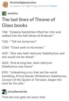 I actually cried so hard at the end of the Empire of Storms book