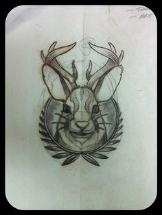 74 best jackalope tattoos images on pinterest awesome tattoos