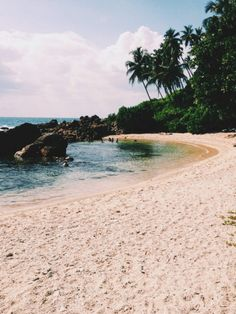 Slightly-less secret cove in Mirissa, Sri Lanka