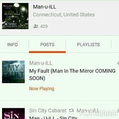 "New #Music ""MyFault"" #GrownManBarz #SoundCloud #GM #GetUpGetOutAndGetIt #ClickTheLink #Comment #LikeCommentShare"