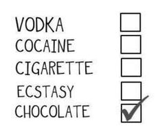 ı choose chocolate with vodka or whiskey :))