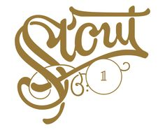 IceMobrew Stout B:1 (Batch 1) beer label - Dado Queiroz - Lettering, design and illustration