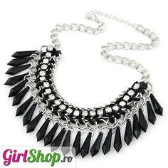 Girl Shop - #colier #masiv cu #pietre #negre si #cristale  http://www.girlshop.ro/cumpara/colier-masiv-cu-pietre-negre-si-cristale-184  #fashion #coliere #accesorii #statement