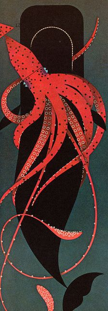 octopus - The Animal Kingdom: Written by George S. Fichter: illustrated by Charley Harper (1968).
