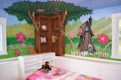 My Houzz: An Enchanted Forest Bedroom traditional kids