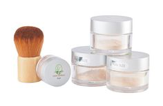 Lemongrass Spa - Select three jars of any trial (3 grams/ 3 month supply) foundation, Cover-Up or Mineral Veil PLUS one trial (1.5g/ 3 month supply) blush or bronzing color PLUS one application brush. Instructions for use and a cosmetic bag are included. Foundation offers 15-20 SPF and are naturally anti-inflammatory. http://www.ourlemongrassspa.com/seaspa