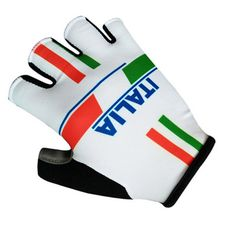 2017 Wihite Team Summer Sport gloves Italia/Italy Cycling Gloves MTB Road Mountain Bike Bicycle Gloves Hand Wear
