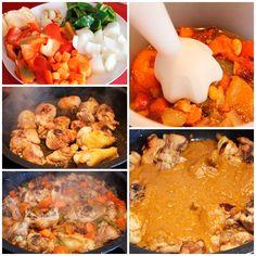 El pollo en salsa es una receta deliciosa y muy sencilla de preparar que gustará a todo el mundo. Receta de pollo en salsa paso a paso