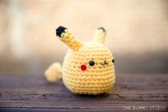 Crochet Amigurumi Rabbit Patterns Pokemon Go revived nostalgic feelings in many of us, and it was incredible to see the number of people it brought out to the parks this s. Pokemon Crochet Pattern, Pikachu Crochet, Crochet Patterns Amigurumi, Amigurumi Doll, Crochet Dolls, Amigurumi Tutorial, Pikachu Pikachu, Afghan Crochet, Crochet Blankets