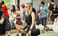 SÁBADO (28) - Público durante o festival Lollapalooza, em São Paulo