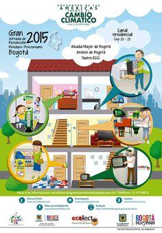 Gran jornada de recolección de residuos. Únete del 20 al 23 de septiembre. @AmbienteBogota