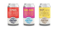 Left Field Brewery Brand Refresh on Packaging of the World - Creative Package Design Gallery