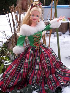 1995 Happy Holiday Gala Barbie Special Edition, - want