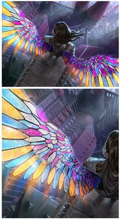 This image concept was taken from the card Magic the Gathering Gift of Orzhova. Art by algenpfleger on deviantart  I can not fly for I have glass wings. They are beautiful and breath taking. But, I can not fly.