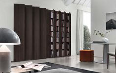 Here comes Jesse Aleph Modular Bookcase, the incredible bookcase for you and your lovely family. Purchase this bookcase today! Italian Furniture, Home Furniture, Furniture Design, Luxury Furniture, Wall Shelving Systems, Wall Shelves, Classic Living Room, Living Room Modern, Modern Bookshelf