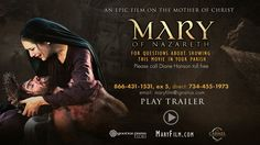 Mary of Nazareth film trailer- available on DVD October 15, 2014.