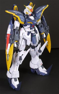 GUNDAM GUY: MG 1/100 Gundam Deathscythe - Customized Build