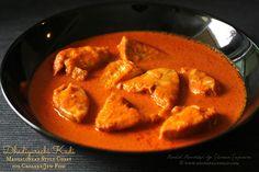 Ruchik Randhap (Delicious Cooking): Dhadiyarechi Kadi ~ Mangalorean Style Curry for Croaker/Jew Fish