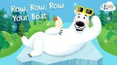 Row Row Row Your Boat - Song for Kids #songsforkids #education #nurseryrhymes #kids #school #teacher