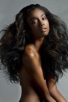 via Hot & Beautiful Black girls Dark Skin Girls, Beautiful Black Girl, Beautiful Women, Ebony Beauty, Black Beauty, Ebony Women, Black Girls Rock, African Beauty, Black Models